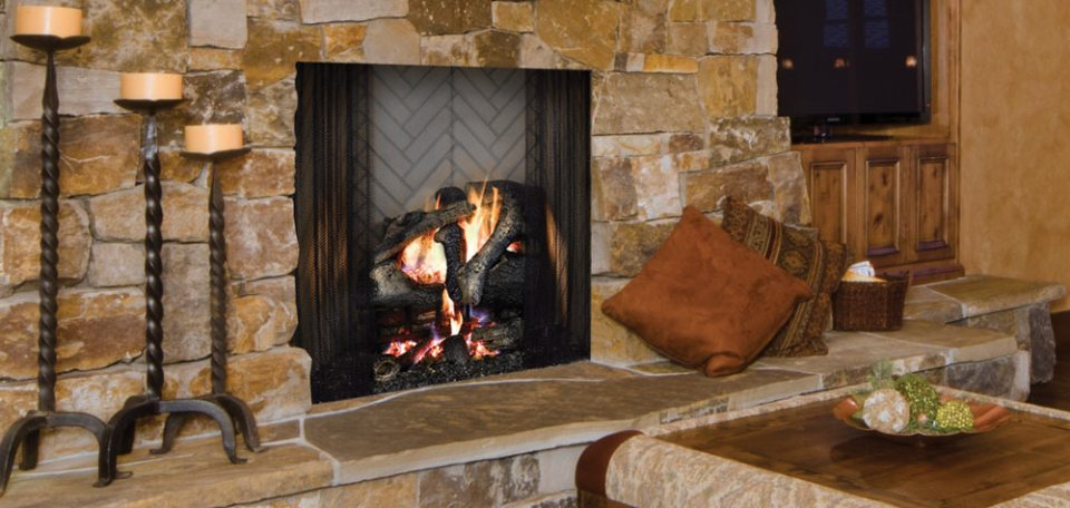 Ashland Wood Burning Fireplace By Majestic Hearth Heating