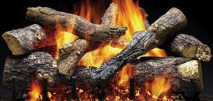 OUTDOOR GRAND OAK Gas Log Set  by Majestic