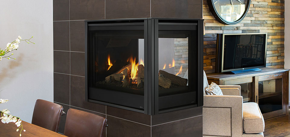 Pearl Ii Peninsula Direct Vent Gas Fireplace By Majestic Hearth Heating