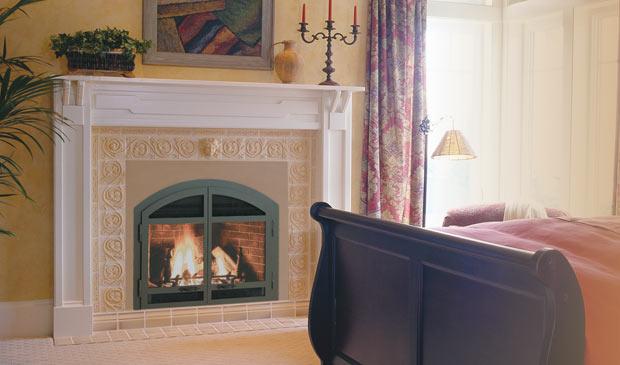 dv 46 gas fireplace
