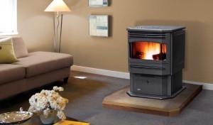 meridian pellett free standing stove